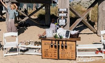 Beach Wedding Shoe Rack : Joyce Mathers Celebrant