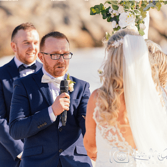 Beach Wedding Vows : Joyce Mathers Celebrant