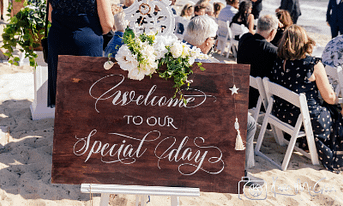 Beach Wedding Welcome : Joyce Mathers Celebrant